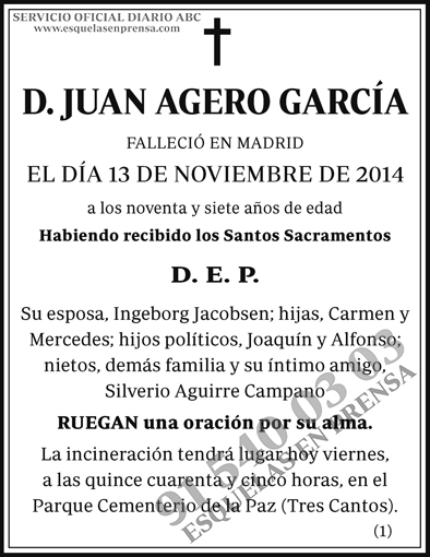 Juan Agero García
